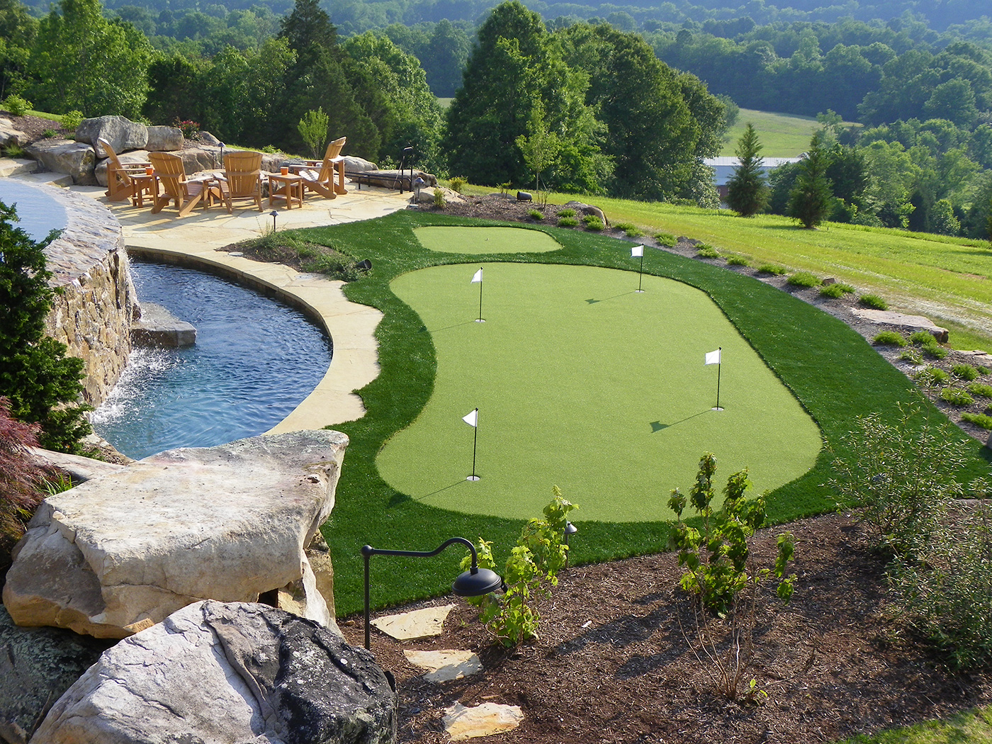residential projects golfgreens by foreverlawn