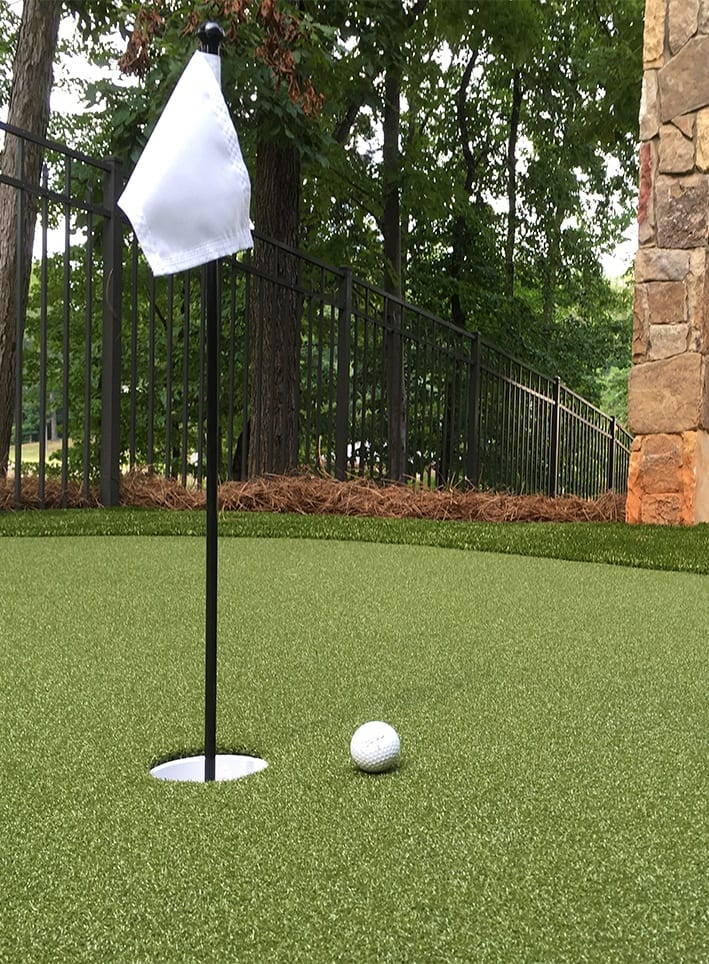 GolfGreens Install by ForeverLawn Charlotte