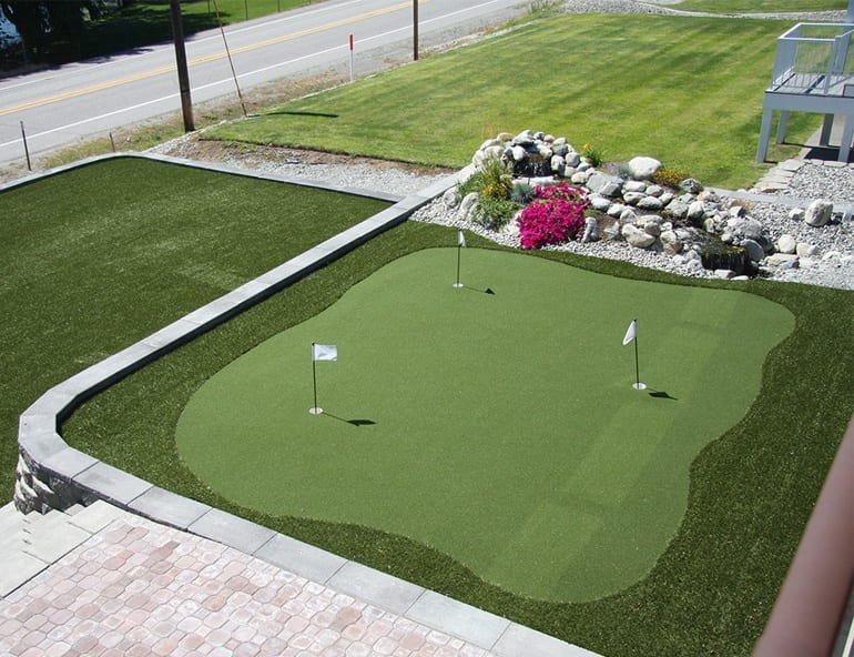 golfgreens proven installation