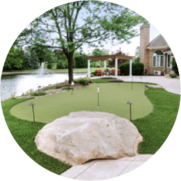 GolfGreens Installation Residential Putting Green in Canton, OH