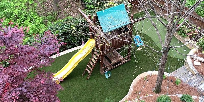Atlanta, GA Family Backyard Putting Green