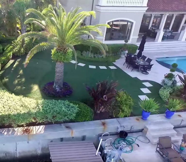 tampa bay family backyard