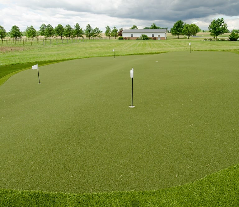 GolfGreens Installation at Whetstone Conference Center in Louisville, OH