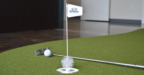 GolfGreens on the Go Flag and Cup